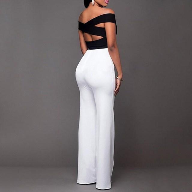 Decorative Button Versatile Slim Straight & High Waist Trouser with Wide Leg Trouser