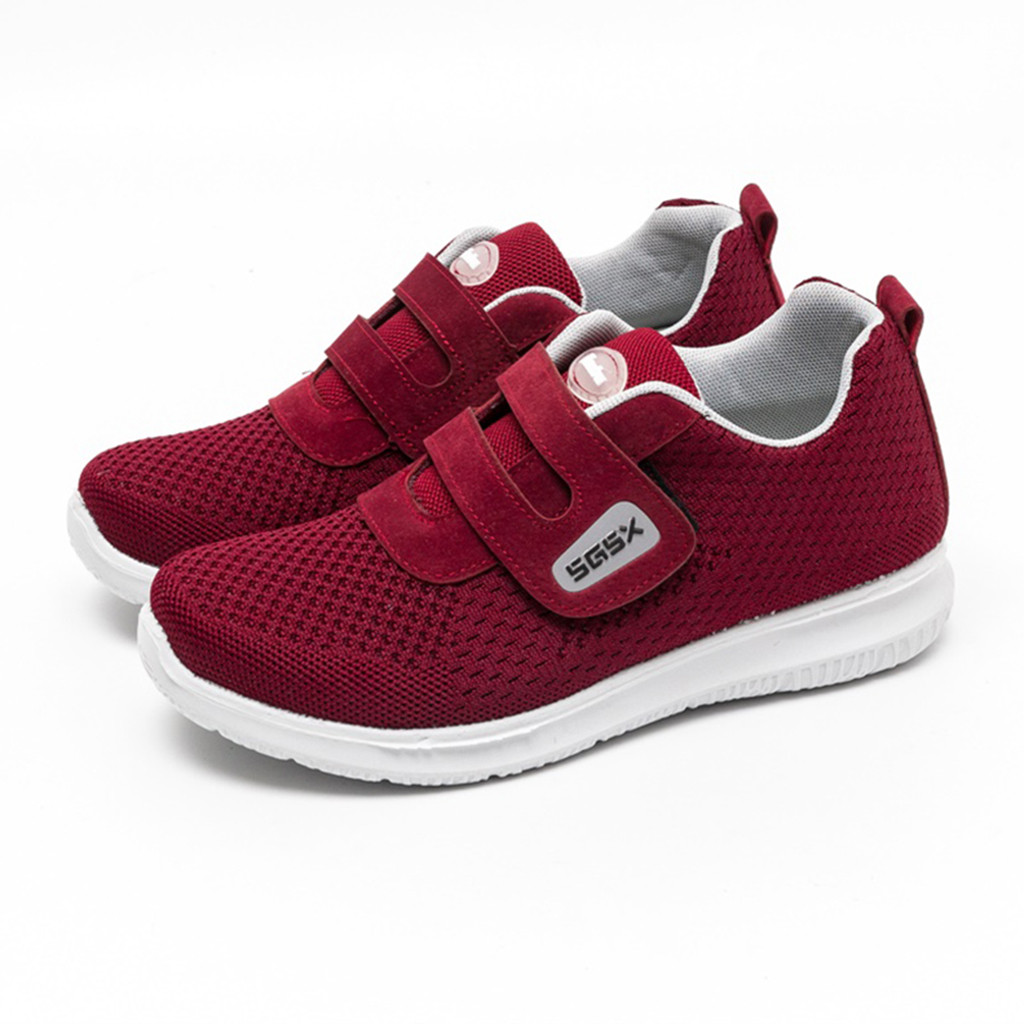 CHAMSGEND 2019 New Women's Breathable Mesh walking shoes casual shoes comfortable wild non-slip wear-resistant sneakers