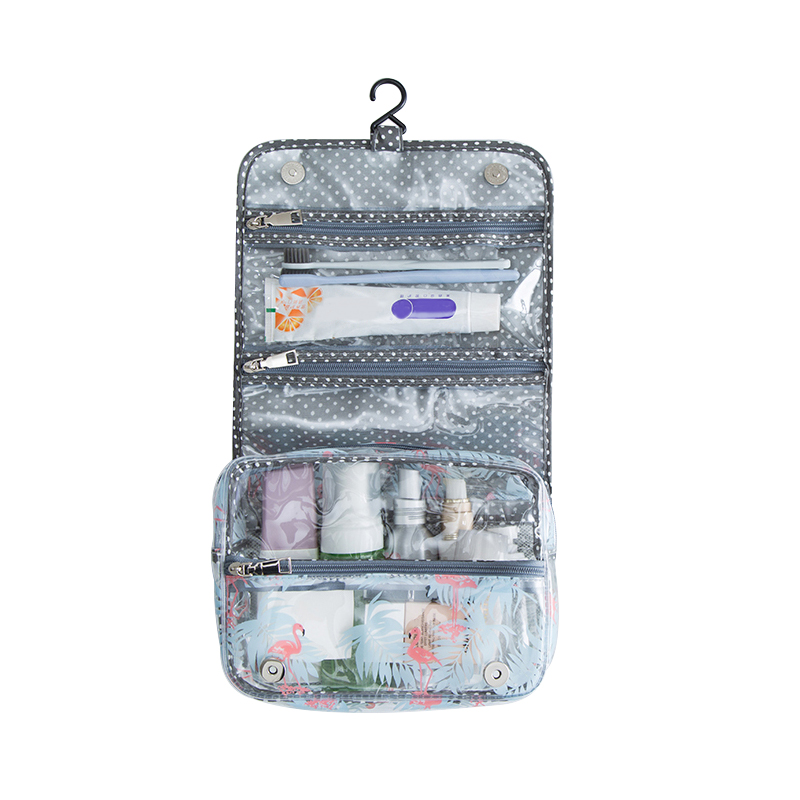 PVC Portable Hanging Cosmetic Bags Wash Cases Women's Travel Cosmetics Cleaning Products Pouch Organizer Accessories Products