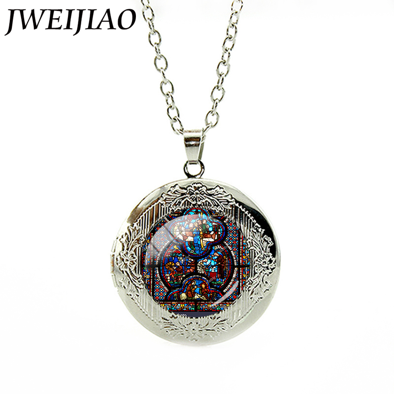 Jweijiao classical notre dame de paris monster opera house jweijiao classical notre dame de paris monster opera house window pattern locket pendant necklace statement jewelry e708 in pendant necklaces from jewelry aloadofball Images