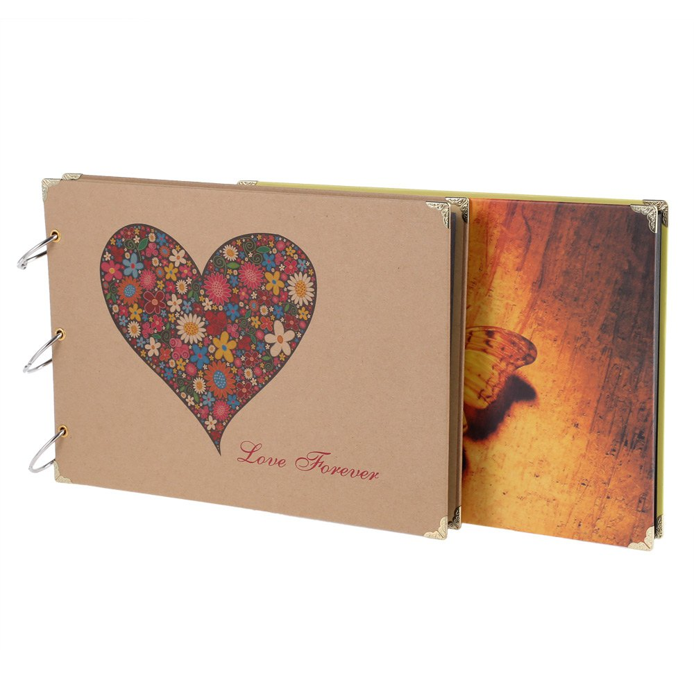How to scrapbook wedding album - 10 Inch New Diy Photo Album Wedding Photos Children Family Memory Record Scrapbook Album Sticky Lovers