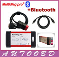 New Multidiag pro+2014.2 CD Keygen as gift free activate TCS cdp pro plus+bluetooth+ carton box for Cars/Trucks and OBD2 Scanner