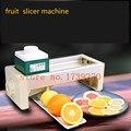 Ticari kullanım Limon Meyve Manuel itme-çekme Patates Sebze Dilimleme Zencefil Ince Çok fonksiyonlu Meyve Dilimleme