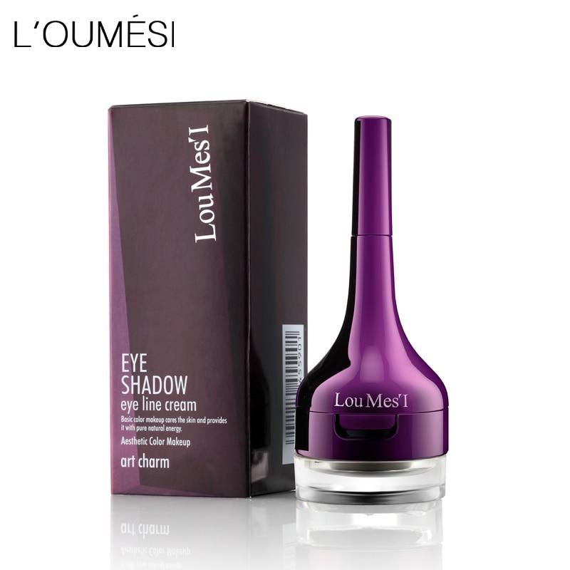 Loumesi ombre à paupières 2 en 1 Maquillage des yeux 6 couleurs Ombres à Paupières Crème facile à transporter livraison gratuite