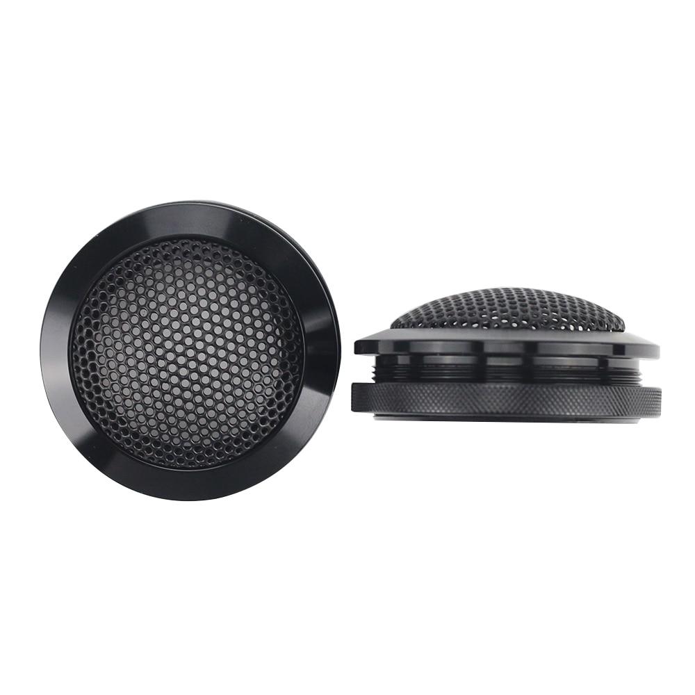 GHXAMP 2PCS 1.5 инчов алуминиев автомобил високоговорител високоговорител грил окото обвивка защитно покритие Shell високоговорител DIY