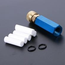 Pompa A Mano PCP Aria Compressore Semplice Ricarica Olio acqua Separatore con la Femmina A Sgancio Rapido e Trasporto Filtro Elemento M10 * 1 fili