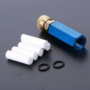Image 1 - Pompa ręczna PCP sprężarka powietrza prosty wkład Separator olej woda z żeńskim szybkozłączem i wolnym elementem filtrującym M10 * 1 wątki