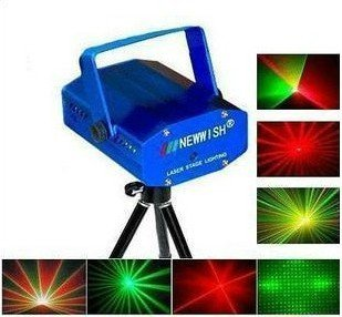 wholesale 2 pcs 150mW mini Green&Red Laser DJ Party Stage Lighting Light ST-WTD001 moving party drop FREE SHIPPING