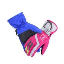 guantes, New Women/Men Winter Outdoor Warm Thicken Touch Screen Ski Gloves Waterproof Mountaineering Motorcycle Gloves