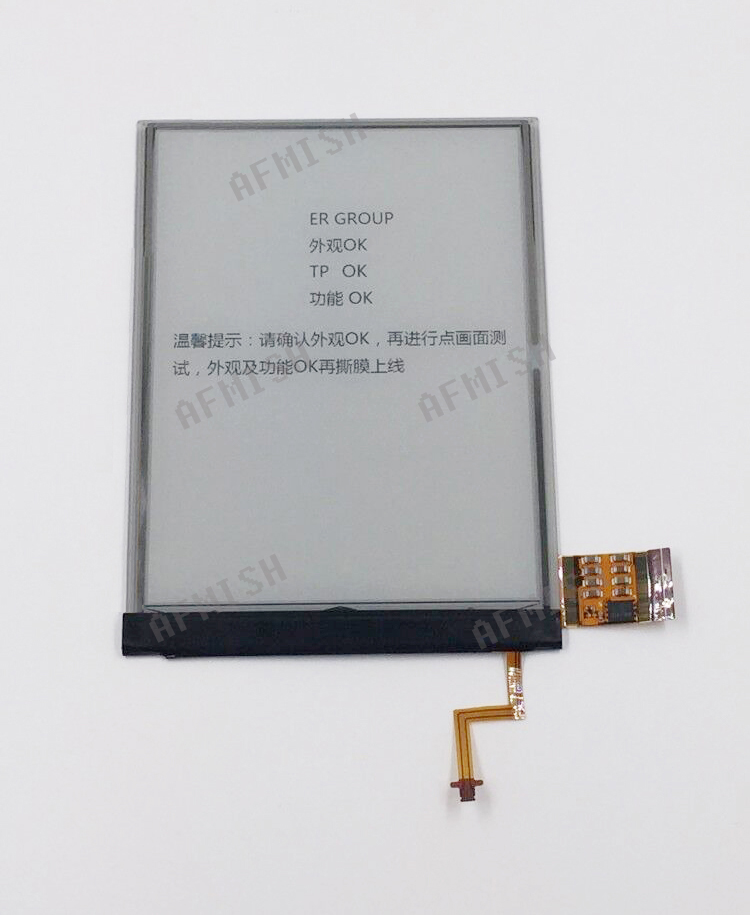 100% new eink 6″ ebook lcd screen for pocketbook 615 pocketbook615 LCD display screen is matte Free Shipping