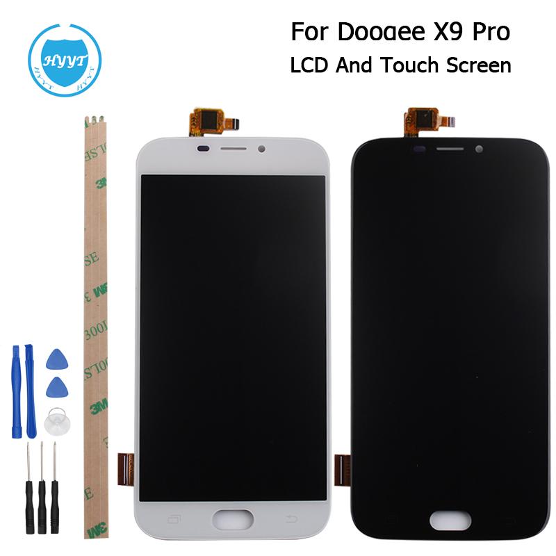 Prix pour Doogee X9 Pro Écran LCD Affichage et Écran Tactile D'origine Digitizer Assemblée Avec Des Outils Pour Doogee X9 Pro Mobile Accessoires