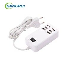 USB האיחוד האירופי plug בית נסיעות מטען קיר מתאם אבקה שקע חיבור usb רכזת שקע רב שקע חכם xiaomi עבור iphone