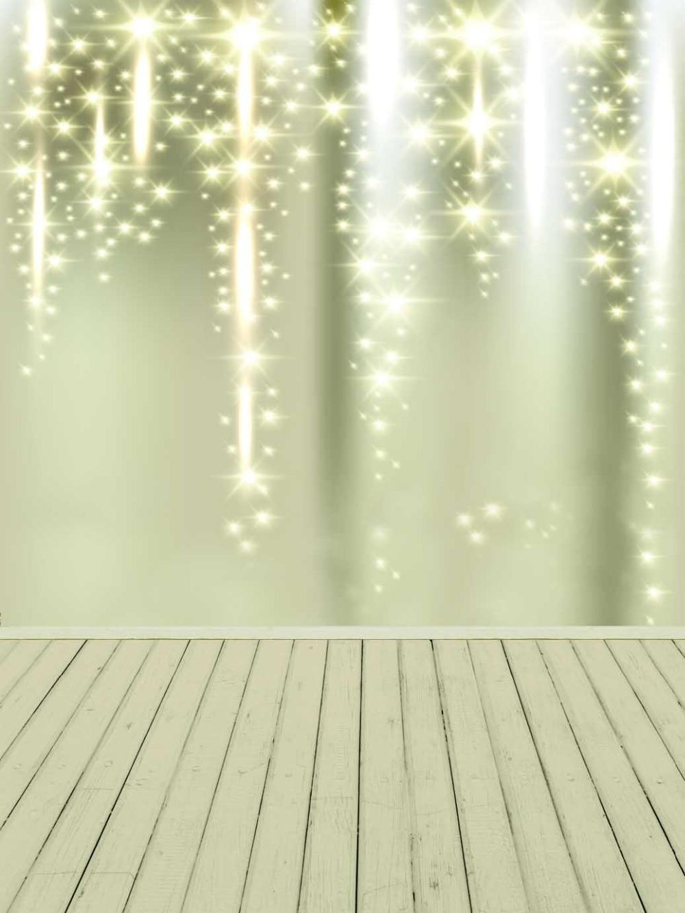 Golden Spark Newborn Photography Backdrop 5x7ft Christmas Backgrounds Studio Wood Floor Photograpic Background for Kids Shoot christmas photography backdrop green tree dark wood floor xmas backdrop for newborn kids photo booth backgrounds studio custom