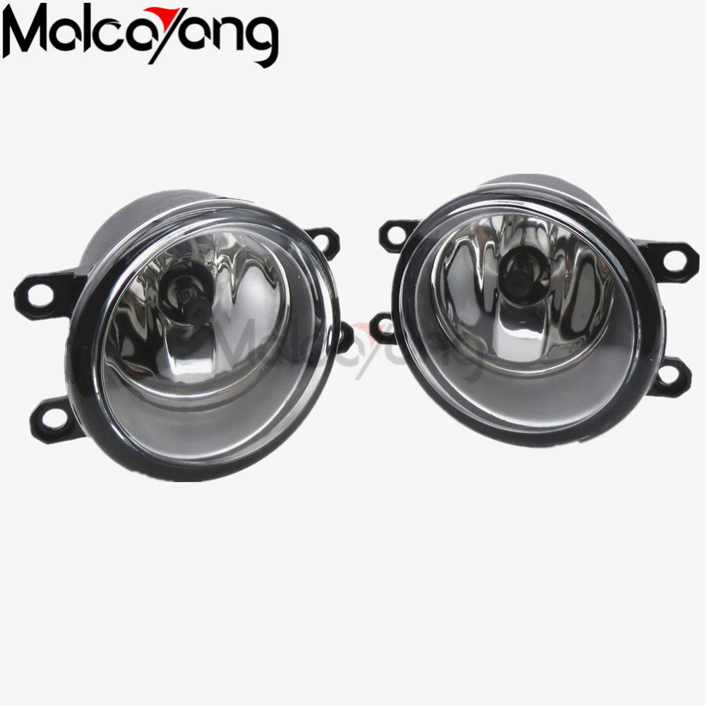 2 Pcs/Set For toyota CAMRY 2010+ cars Exterior Front bumper light fog lamps Original Fog Lights 1 set (Left + right) 81210-06052 купить