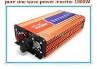High Quality 1000W Pure Sine Wave Inverter 110 220V AC 12 24VDC PV Solar Inverter Power