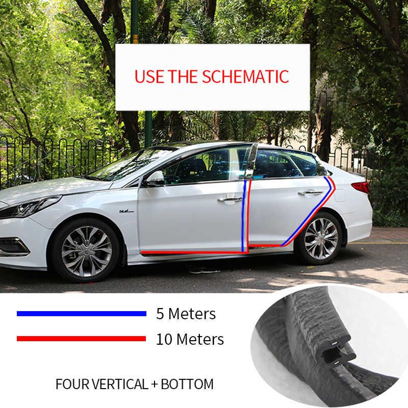Mobil Pintu Edge Protector 10 M Anti Gores Sealing Strip Guard Trim Mobil Pintu Stiker Styling Mouldings Aksesoris Dekorasi