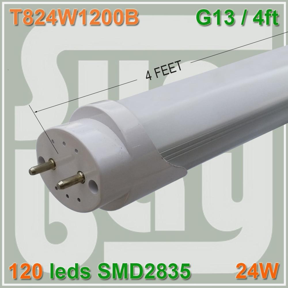 10pcs lot free shipping Super bright 120leds 24W 4FT font b LED b font font b