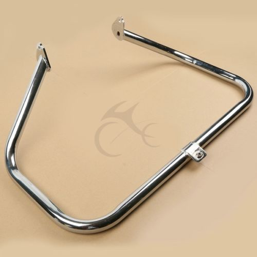 Motor Chrome Engine Guard Highway Crash Bar For Harley Davidson Touring Road King FLHX FLHT Electra Street Glide 97-08 06 mustache engine highway crash guard bar for harley touring models fl flhr flht flhx road king electra street glide