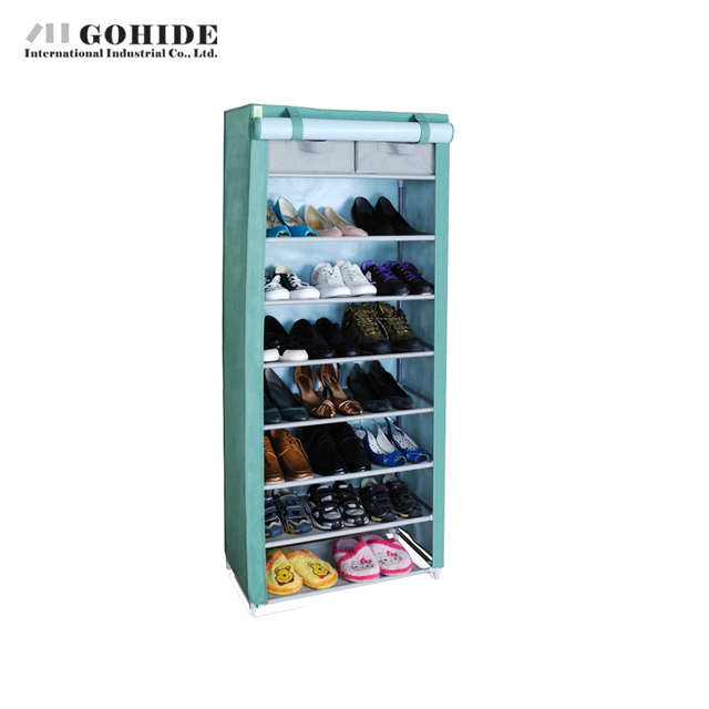 Gohide Totally Enclosed With Drawer Shoe Storage Wd8140t I Oxford Cloth Shoe Ark Shoe Storage Closet Home Furniture