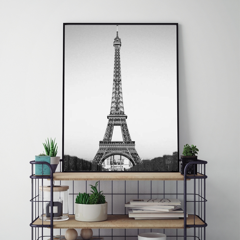 Eiffel Tower Decor Canvas Paintings