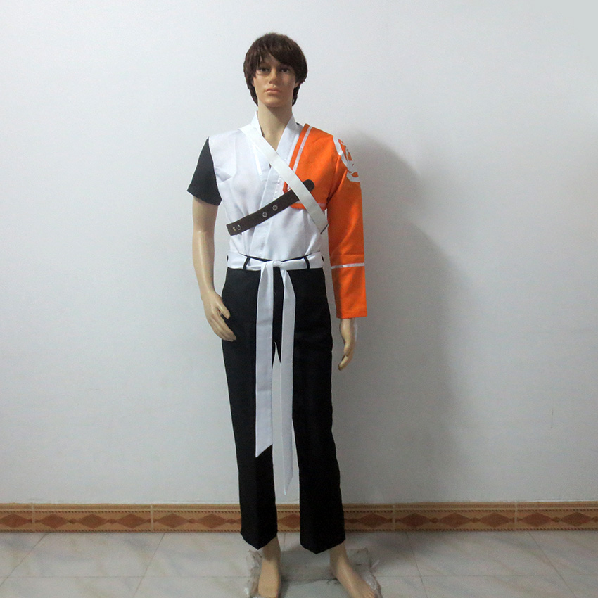 OW Game Youth Shimada Hanzo Cosplay Costume Halloween Uniforms Customize Any Size