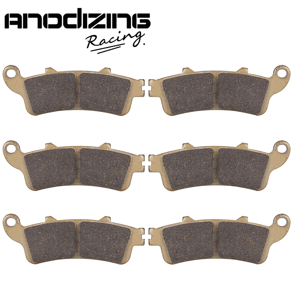 Motorcycle Front and Rear Brake Pads For HONDA GL1800 Goldwing (All models) 2001-2017 180 16 9 fast fold front and rear projection screen back