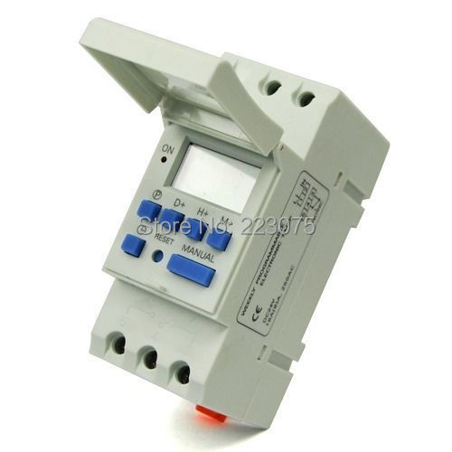 цена на Free shipping DC 24V Digital LCD Power Programmable Delay Timer Time Relay Switch Daily Weekly