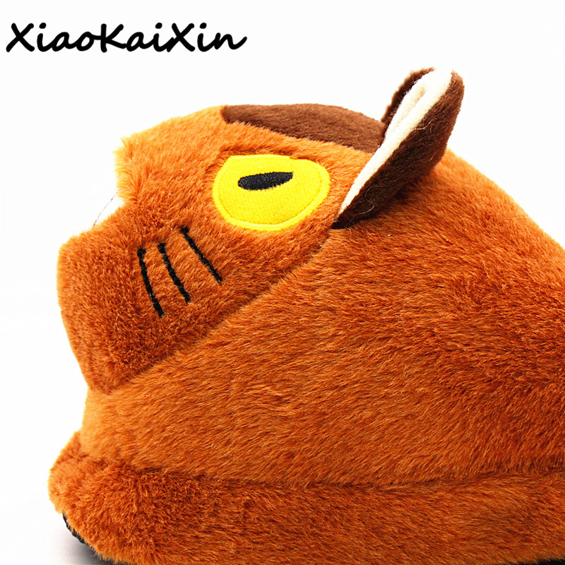 Unisex High Quality Plush Slippers Japanese Cartoon Chinchilla Bus 3D Cat Furry Slippers Men Women Winter Warm Indoor Home Shoes new arrival fashion style couple wear shoes striped men women winter time slippers indoor wear unisex good quality comfortable