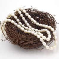 13 /String Waterdrop Perle Perlen Natürliche Perlen Unregelmäßig Materialien Für Herstellung Von Schmuck Inci Boncuk Diy Handwerk Perle 5 -7mm