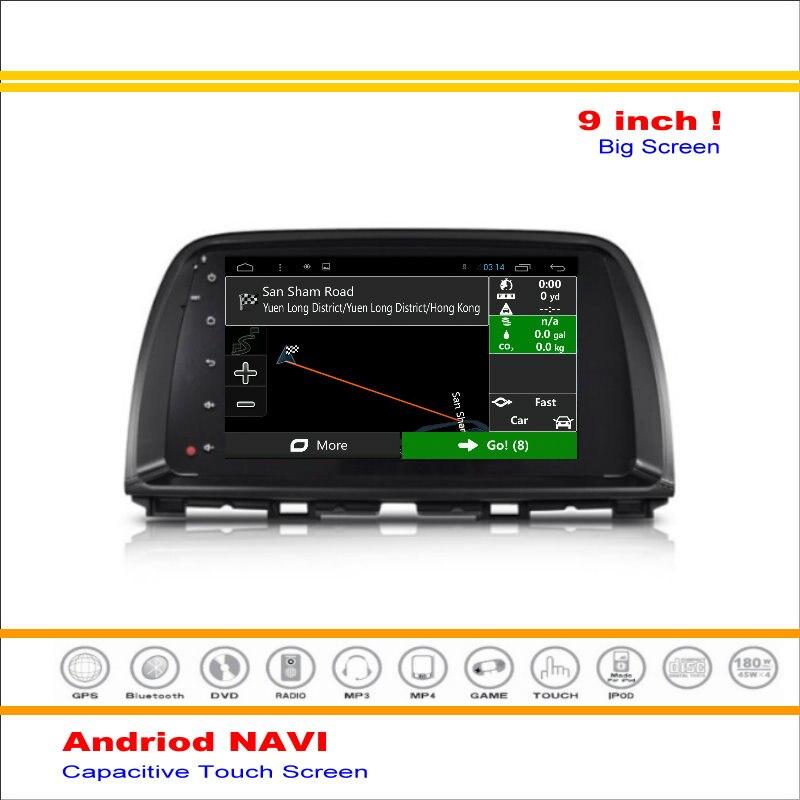 Android Car Multimedia Sistema de Navegación Navi Nav Para Mazda CX-5 2012 ~  de