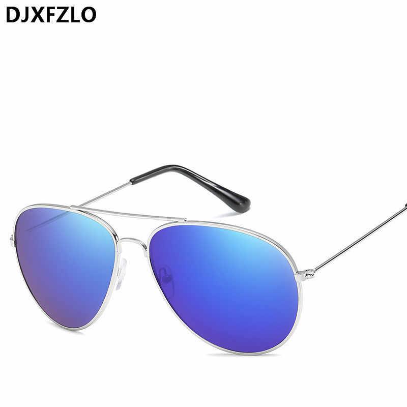 bfdcde0ce6d96 ... DJXFZLO Classic Sunglasses Women Men Brand Designer Pilot Driving Mirror  Vintage Sun Glasses Female Male Oculos ...