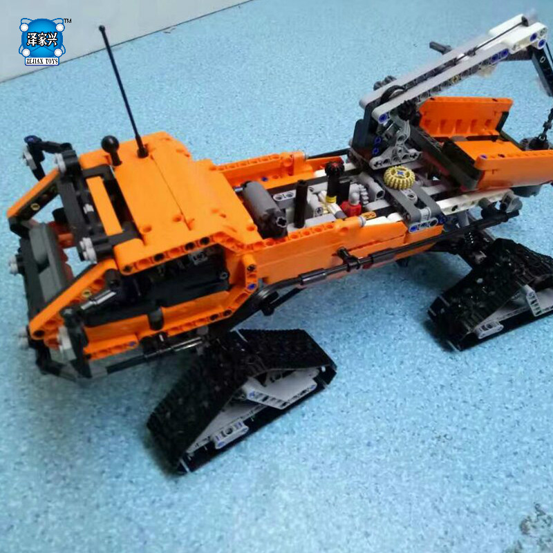 Arctic Truck Building Bricks Blocks Toys for Children Boys Game Model Car Gift Compatible with Lepins DIY Model lepin 22001 imperial flagship building bricks blocks toys for children boys game model car gift compatible with bela decool10210