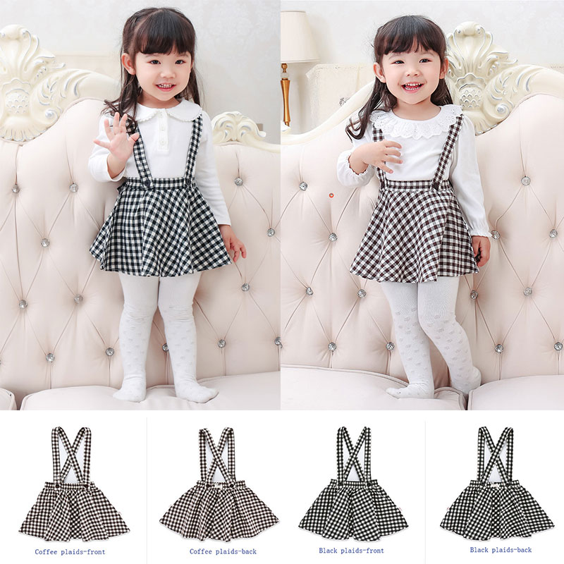 1pc Baby Girl Clothes Toddler Spring Autumn Overalls Suspender Plaid Princess Bubble Dress Kids 2018 Clothing 1-5 Years Dresses1pc Baby Girl Clothes Toddler Spring Autumn Overalls Suspender Plaid Princess Bubble Dress Kids 2018 Clothing 1-5 Years Dresses