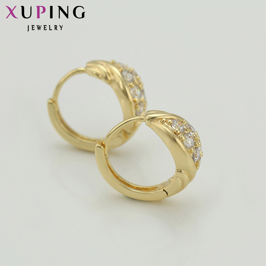 Xuping Fashion Earring Promosi Gaya Baru Perhiasan Anting Warna - Perhiasan fesyen - Foto 5