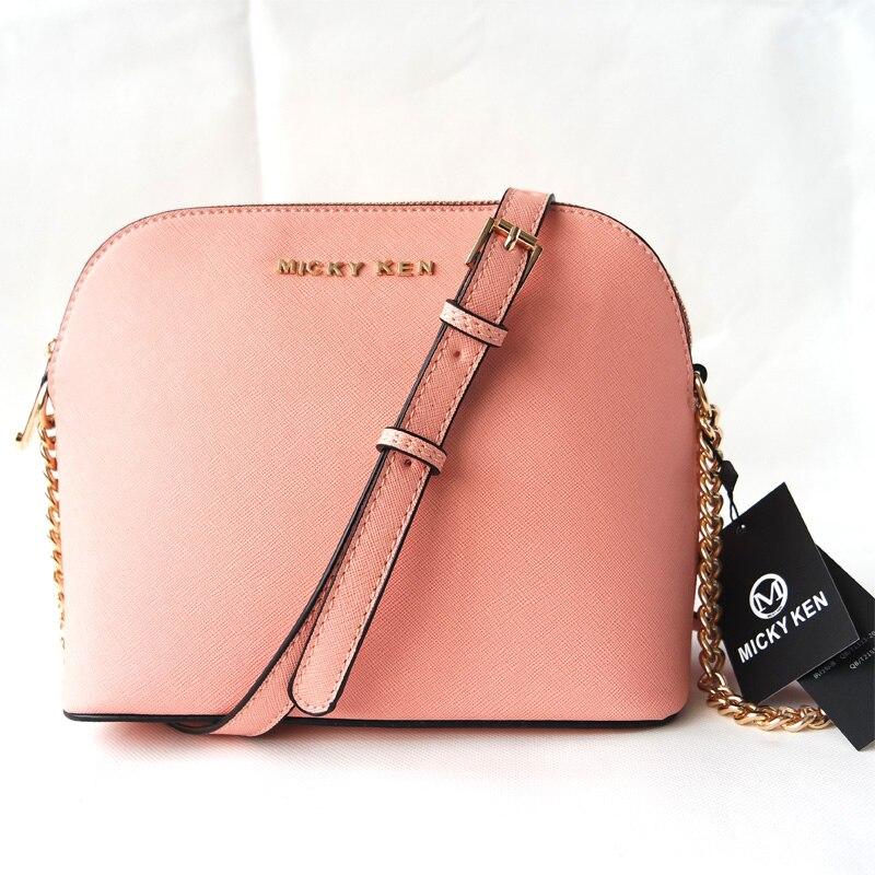 b6dc753316c Gratis verzending vrouwen premium roze star kruissteek patroon lederen tas  keten schoudertas kleine shell tas handba in Gratis verzending vrouwen  premium ...