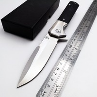 VOLTRON V20 Tactical Folding Knife 9Cr18Mov Blade Steel G10 Handle Ball Bearing Survival Pocket Knives Outdoor Camping EDC Tool