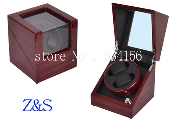 wooden watch winder display jewelry  box