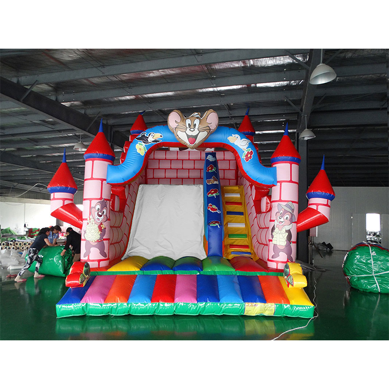 jumping bouncy Castle bouncer slide inflatable trampoline for sale