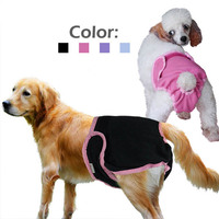 Adjustable Female Pet Health Physiological Cotton Tighten Briefs Underwear Diapers In Season Sanitary Pants For Large