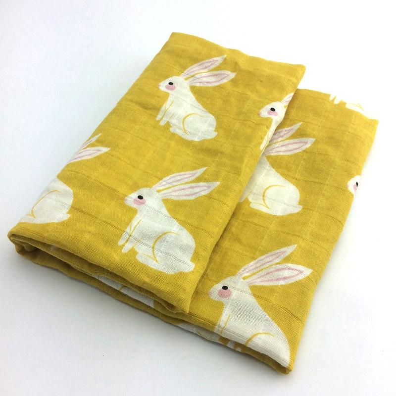 Новинка; хлопковое детское одеяло для новорожденных; мягкое детское одеяло из органического хлопка; муслиновое Пеленальное Одеяло для кормления; тканевое полотенце; шарф; детские вещи - Цвет: 19