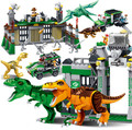 Jurassic World Park Dinosaur Raptor protection zone Building Blocks Toys juguetes  Compatible With Legoe