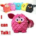 Новый 2014 электрические домашние животные сова эльфы плюшевые игрушки запись разговора игрушки