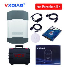 New VXDIAG for Porsche and For JLR LAND ROVER with Original Software HDD(Piwis2 Tester V18.1 and JLRIDS V149) DHL Free shipping