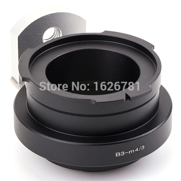 Pixco Lens Adapter suit for B3 2/3 lens to micro 4/3 Camera GM1 GX7 G6 GF6 E-M5 E-PL5 E-PM2 propre p177 bm01 配豹米空气净化器 去甲醛过滤网除pm2 5滤芯 适用于豹米1 2代