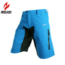 2016 ARSUXEO Mens Outdoor Sports font b Cycling b font Clothing Downhill MTB Shorts Mountain Bike