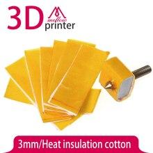 Ultimaker/makerbot теплоизоляция hotend горячая! толщина насадка толщиной отопление блок принтер хлопок