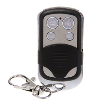 433 МГЦ Беспроводной Брелок Сигнализации Пульт дистанционного управления для Домашней Системы Безопасности с 4 Ключами 27A/12 В Батареи Включены металл + Пластик