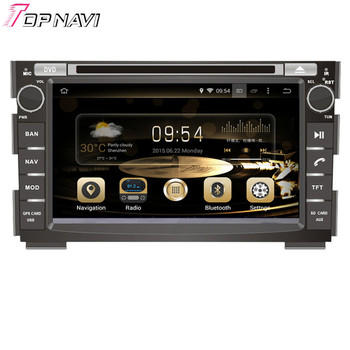 Topnavi 7'' Quad Core 2+16GB Android 7.1 Car GPS Navigation for KIA CEED 2006 2007 2008 2009 2010 2011 2012 Autoradio Stereo 3G image
