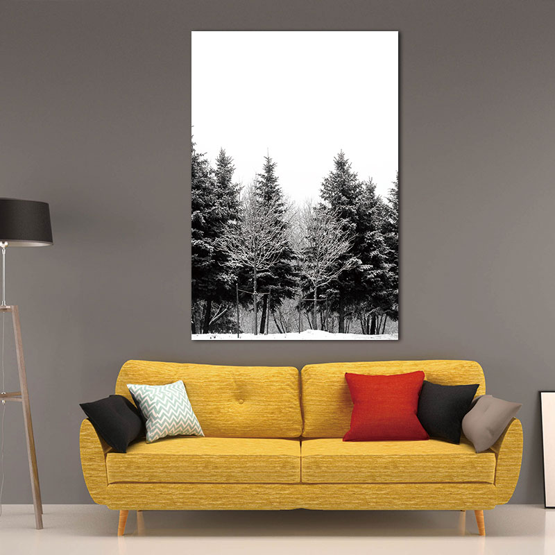 Wall-Pictures-Canvas-Painting-Prints-on-Scandinavian-Nordic-Abstract-Art-Winter-Snow-Forest-Trees-Decoration-Pictures (1)