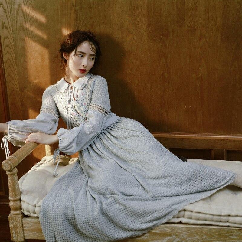 Lynettes Chinoiseryвесенне осенние женские винтажные вязаные